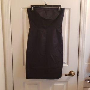 Gap Strapless Little Black Tube Dress Size 2
